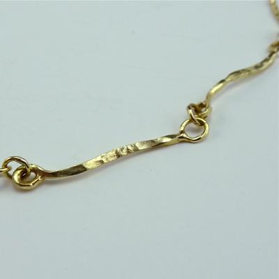 Goudsmid Edelsmid Ylva Roël. Design sieraden, ontwerp laten maken Haarlem.   collier. H051