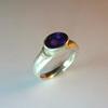 Goudsmid Edelsmid Ylva Roël. Design sieraden, ontwerp laten maken Haarlem. goud 14kt Gouden ring. R013