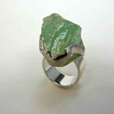 Goudsmid Edelsmid Ylva Roël. Design sieraden, ontwerp laten maken Haarlem. zilver Zilveren ring. R168