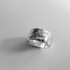 Goudsmid Edelsmid Ylva Roël. Design sieraden, ontwerp laten maken Haarlem. zilver Zilveren ring. R183