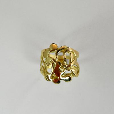 Goudsmid Edelsmid Ylva Roël. Design sieraden, ontwerp laten maken Haarlem.   ring. R195