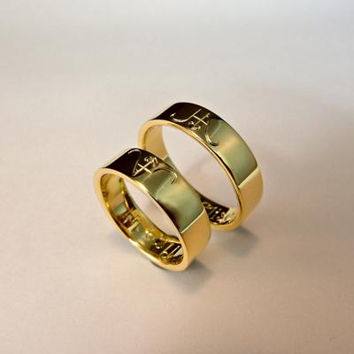 Goudsmid Edelsmid Ylva Roël. Design sieraden, ontwerp laten maken Haarlem.    trouwringen. R092