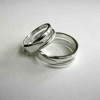 Goudsmid Edelsmid Ylva Roël. Design sieraden, ontwerp laten maken Haarlem.    trouwringen. R100